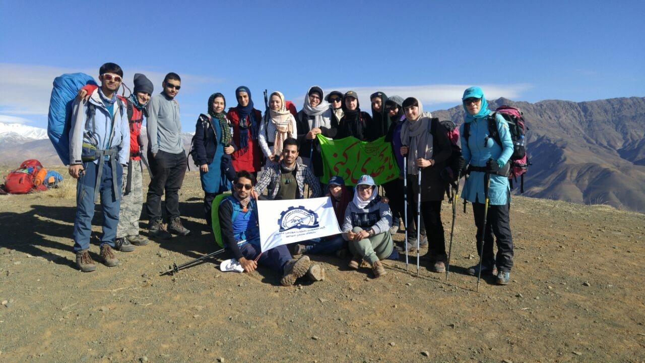 بر فراز قله ی بیجی کوه