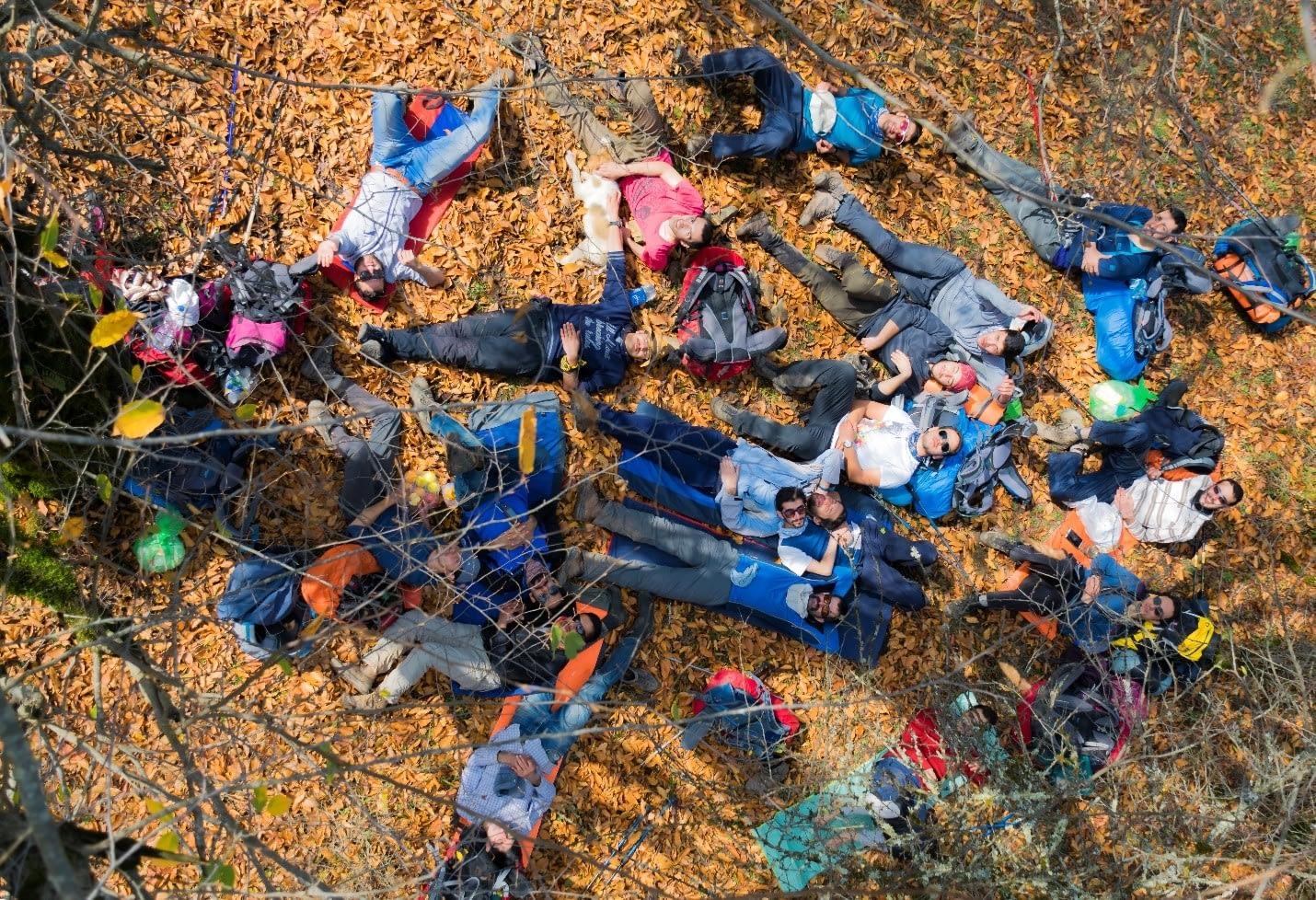 استراحت در نزدیکی دشت دوم الیمستان