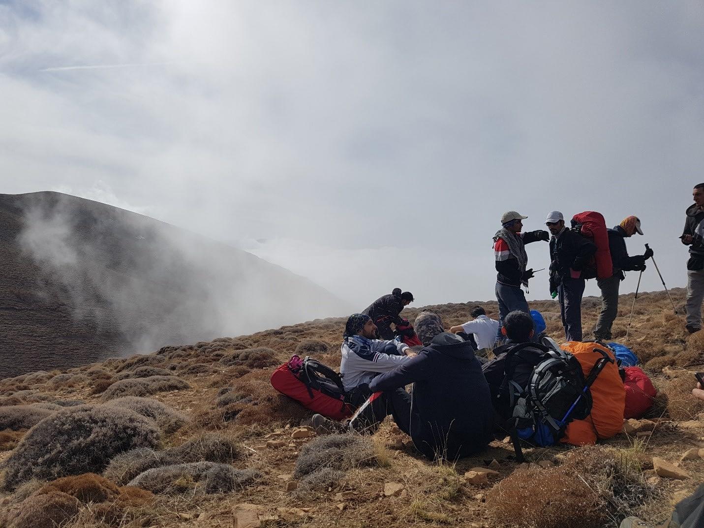 استراحت و هماهنگی قبل از ورود به مه
