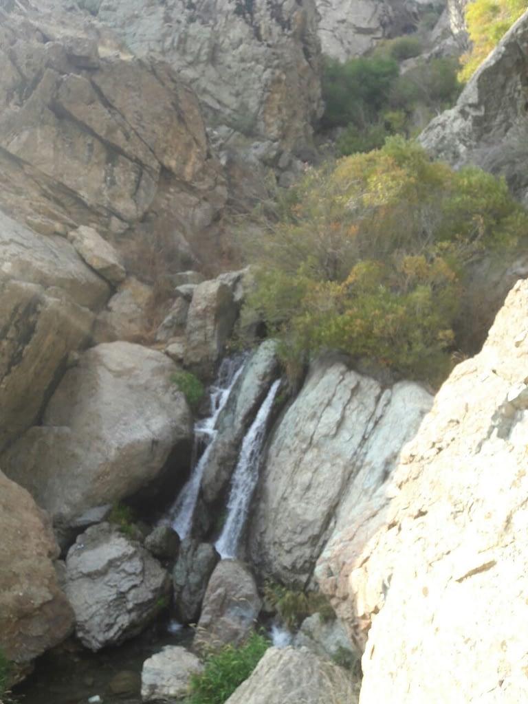 آبشار در مسیر برگشت